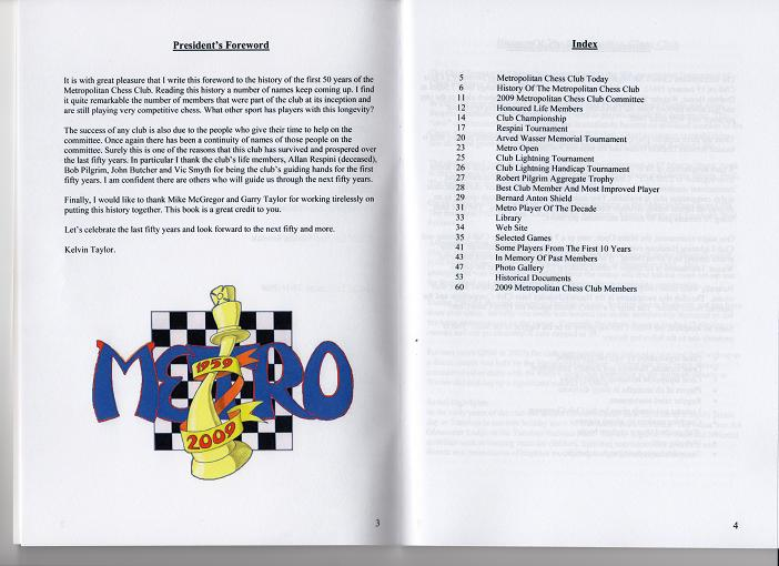 Metro 50th Hisory Booklet Pages 3 & 4